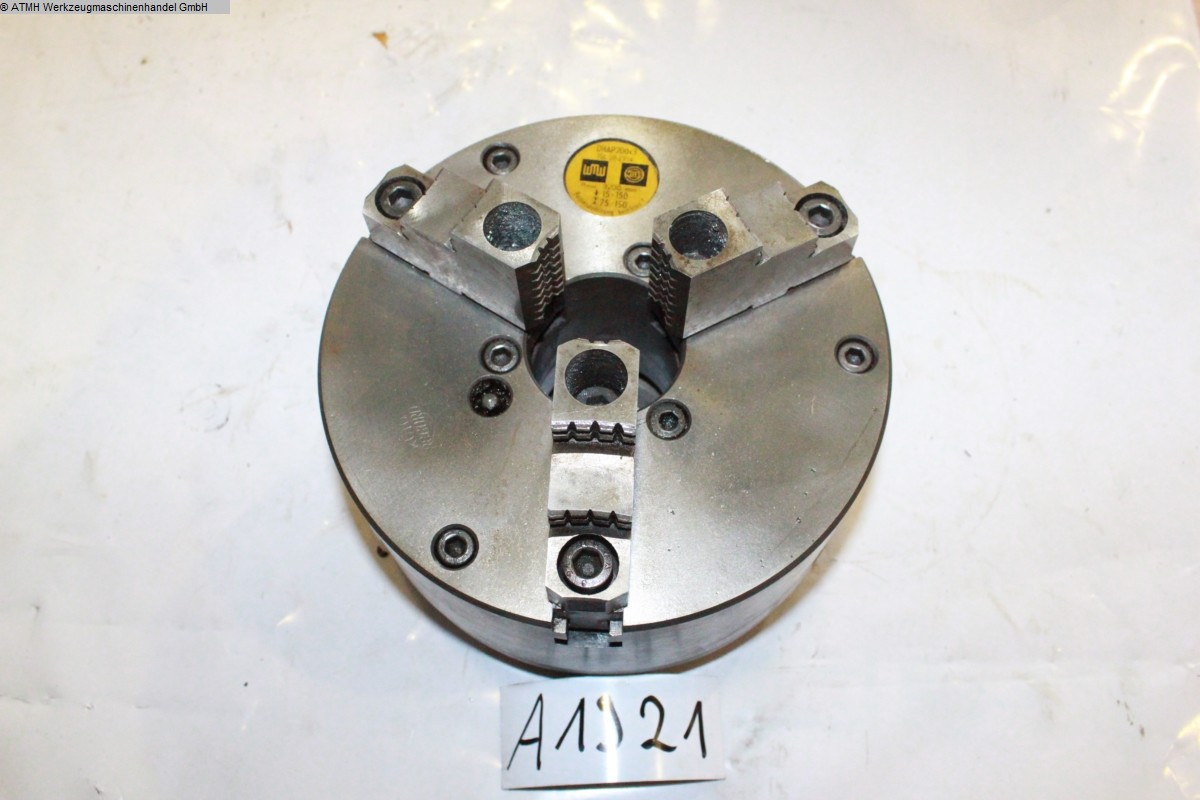 used Other accessories for machine tools Chuck WMW Dreibacken Ø 200 mm