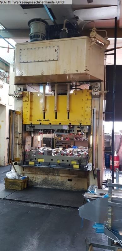 gebrauchte Pressen und Bördelmaschinen Doppelständerziehpresse - Hydraulisch SMG /