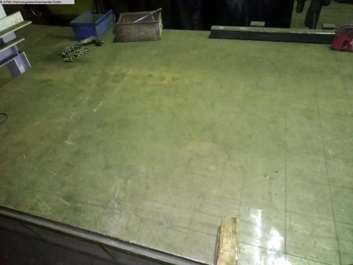 gebrauchte Maschinenzubehör Anreißplatte UNBEKANNT 2000 x 3000