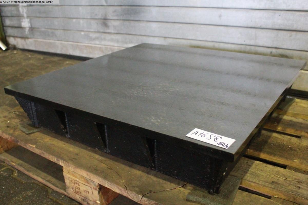 gebrauchte Maschinenzubehör Anreißplatte UNBEKANNT Anreisstisch 755x755mm