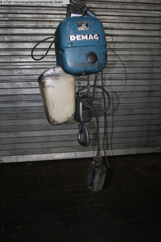 used Other Machines Chain Hoist - Electric DEMAG PK 5 N Elektro Kettenzug 1000