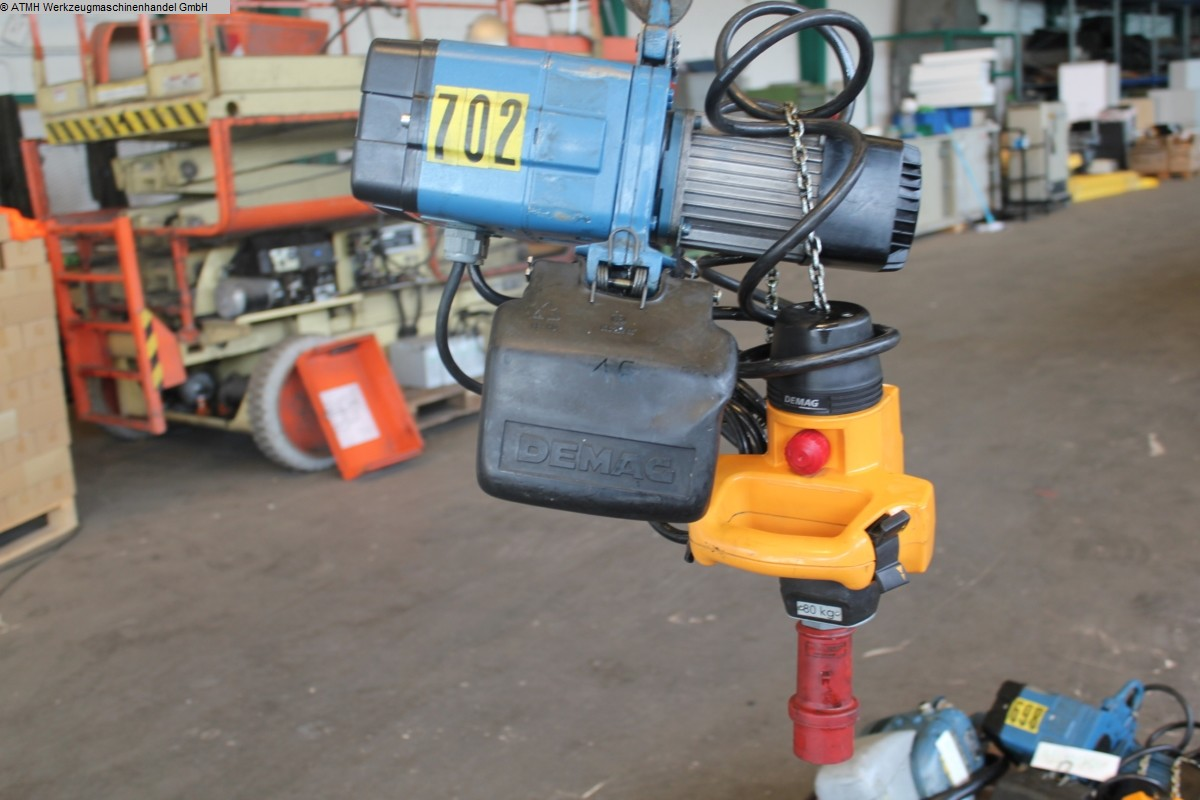 used Other attachments Chain Hoist - Electric DEMAG DKM 1-80 K V1 F4 Kettenzug