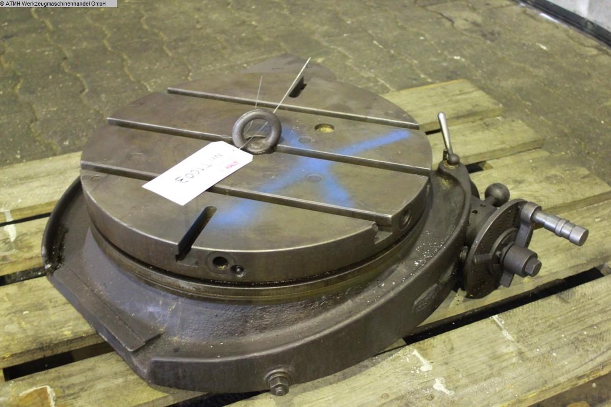 gebrauchte Maschinenzubehör etc. Rundtisch  Ø 500 mm