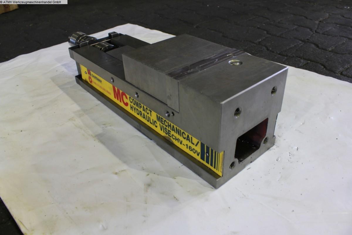 gebrauchte Maschinenzubehör etc. Schraubstock SAFEWAY CHV-160V