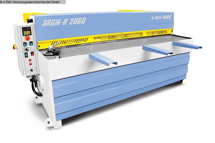 gebrauchte Blechbearbeitung / Scheren / Biegen / Richten Tafelschere - mechanisch SAYMAK SRGM-2060