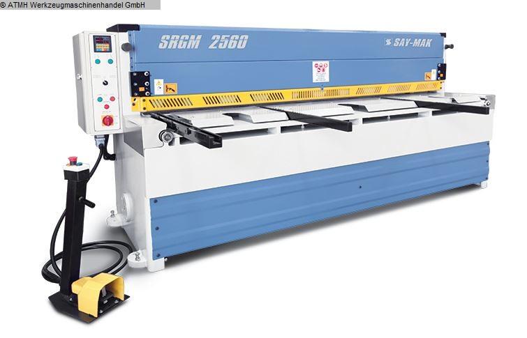 gebrauchte Blechbearbeitung / Scheren / Biegen / Richten Tafelschere - mechanisch SAYMAK SRGM-2560