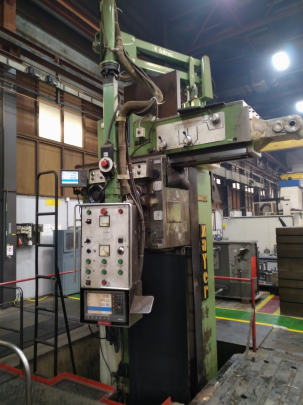 used Bed Type Milling Machine - Vertical ZAYER 8000CM