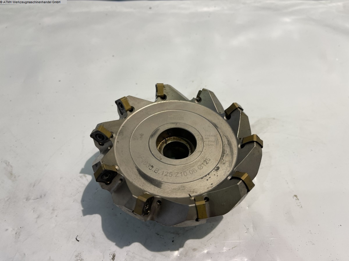 used Insert milling cutter WALTER 125mm