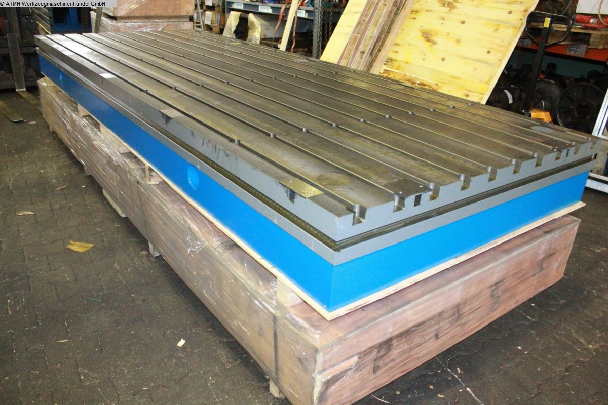 used Other accessories for machine tools bolster plate ATMH 4000 x 1500 x 300mm
