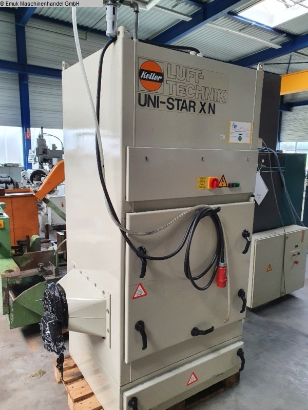 used Chip and dust extracting systems Exhausting system KELLER Unistar XN