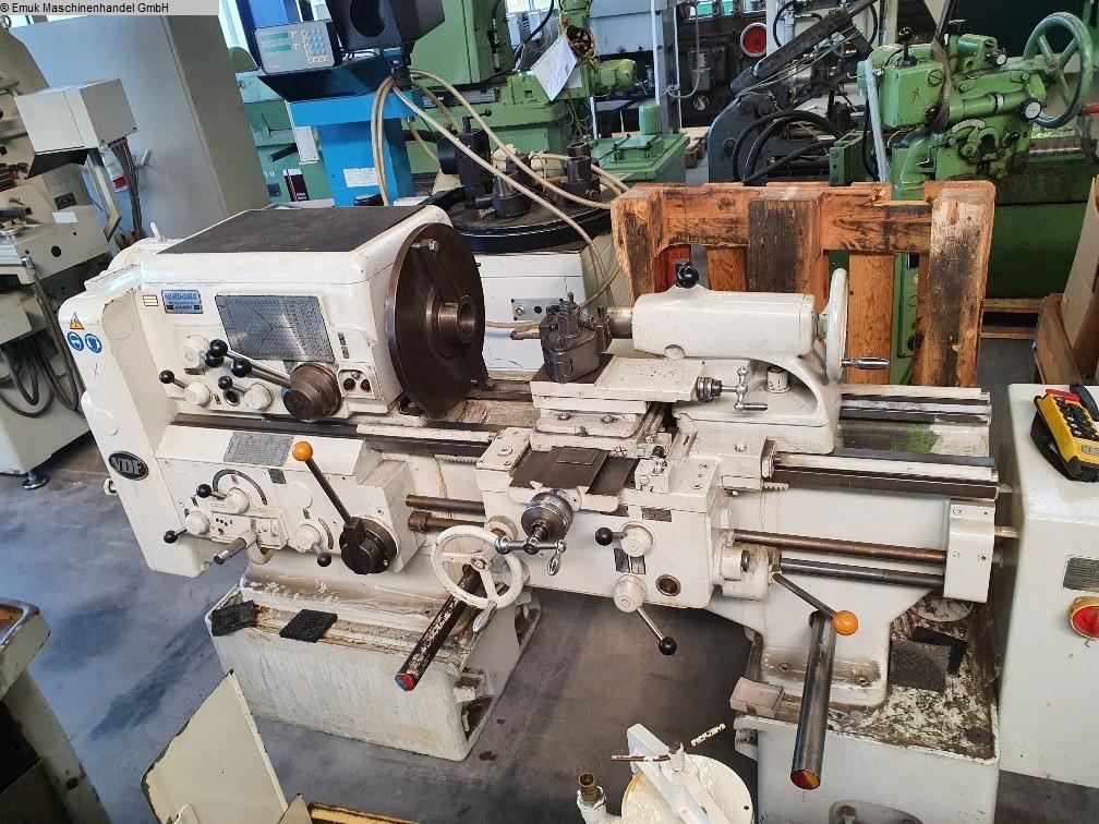 gebrauchte  Leit- und Zugspindeldrehmaschine H & H 21 RO