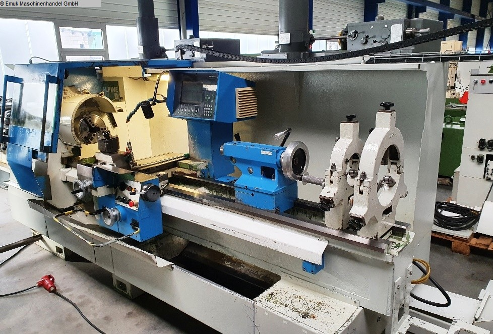used Machines available immediately CNC Lathe VOEST-ALPINE-STEINEL W 570/ E 50 / 2