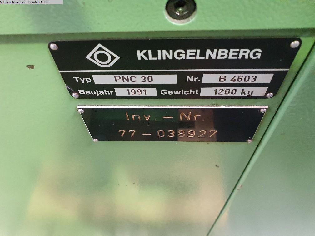 gebrauchte Verzahnungsmaschinen Zahnradprüfmaschine KLINGELNBERG PNC 30