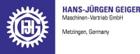 Hans - Jürgen Geiger Maschinen-Vertrieb GmbH  72555 Metzingen James-Watt-Str. 12 Deutschland